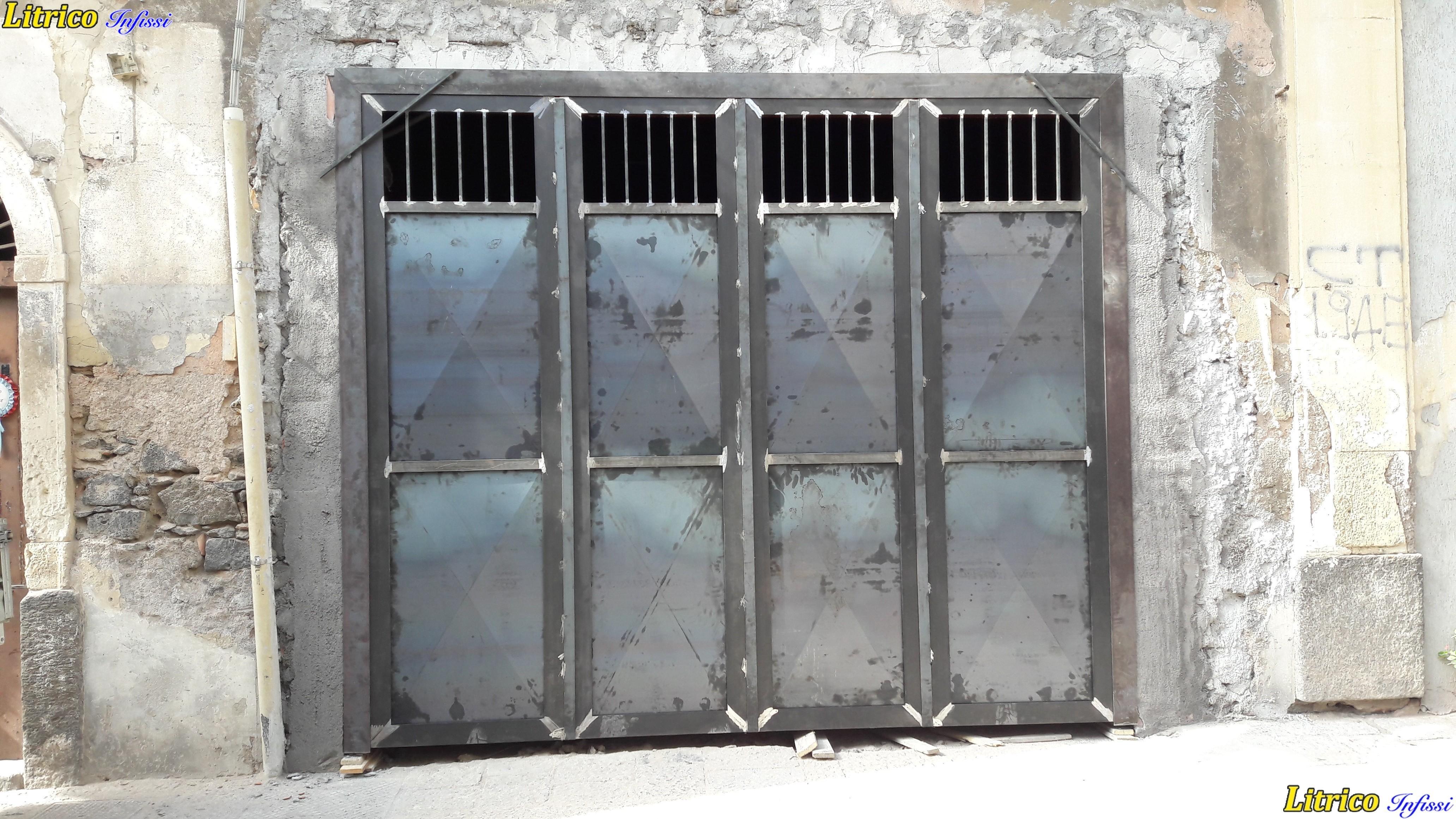 Foto di cancelli in ferro top disegni di cancelli in for Immagini cancelli in ferro