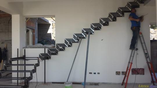 Scala in ferro - lavori in ferro