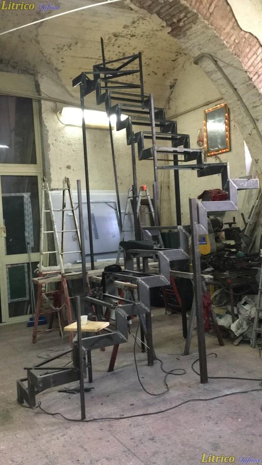 Lavori in ferro Catania - Scala in ferro