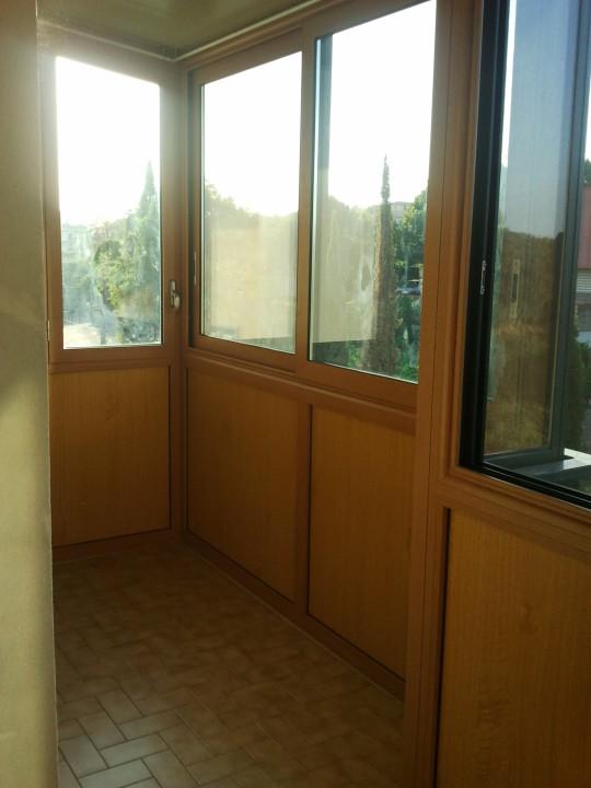 Veranda in  Alluminio Taglio Termico EKOS Catania