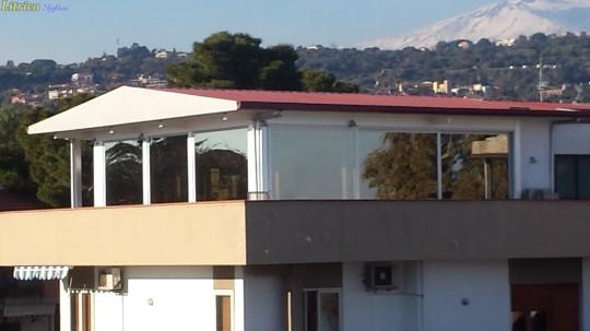 Veranda in Alluminio a Taglio Termico EKOS Catania