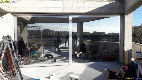 Infissi in alluminio a Taglio Termico EKOS Catania
